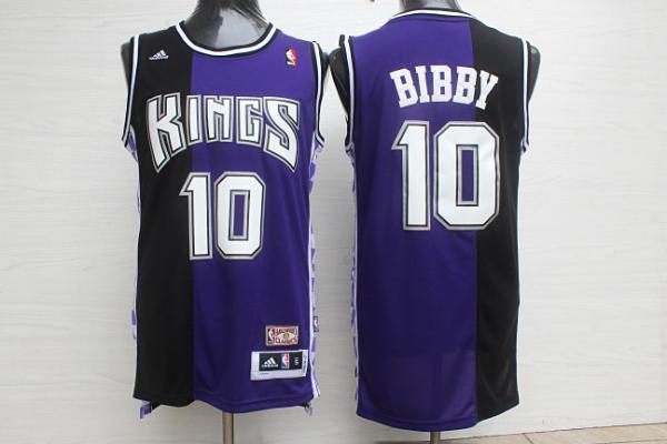 Kings 10 Bibby Purple Hardwood Classics Jersey