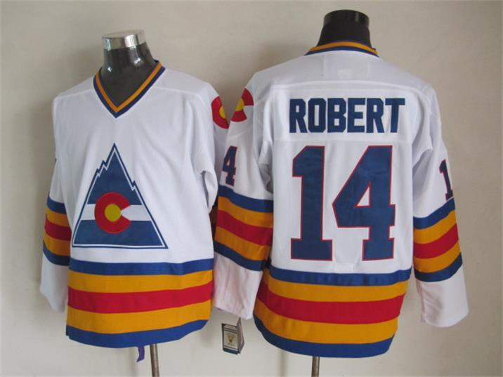 Avalanche 14 Robert White CCM Jersey