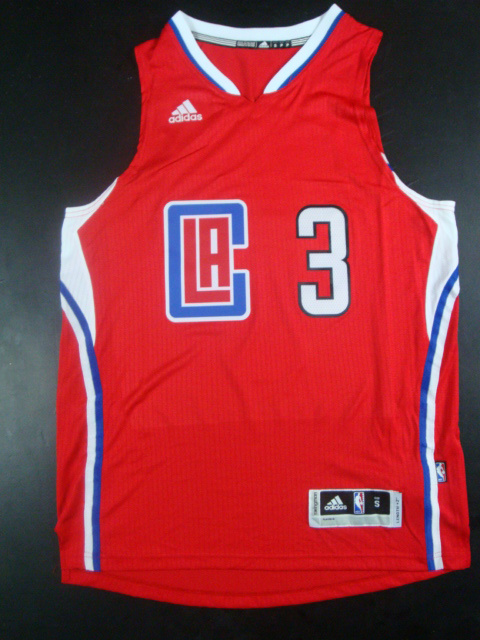 Clippers 3 Chris Paul Red 2015 New Rev 30 Jersey (hot printed)