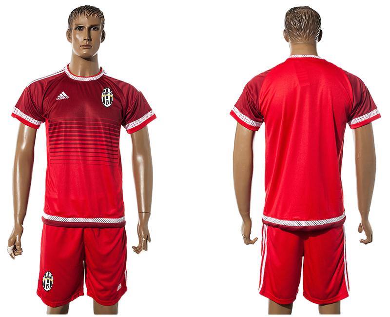 2015-16 Juventus Red Training Jersey