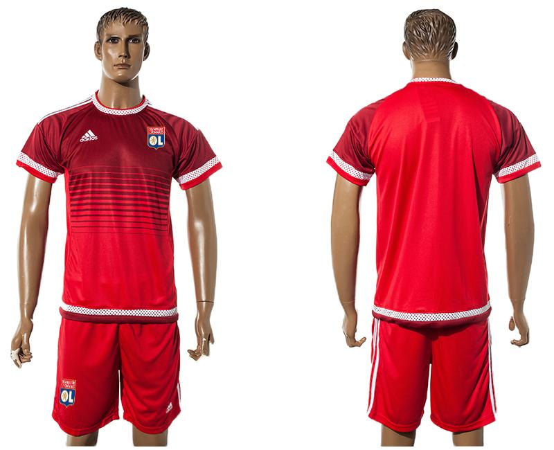 2015-16 Lyon Red Training Jersey
