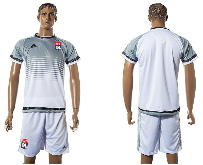 2015-16 Lyon White Training Jersey