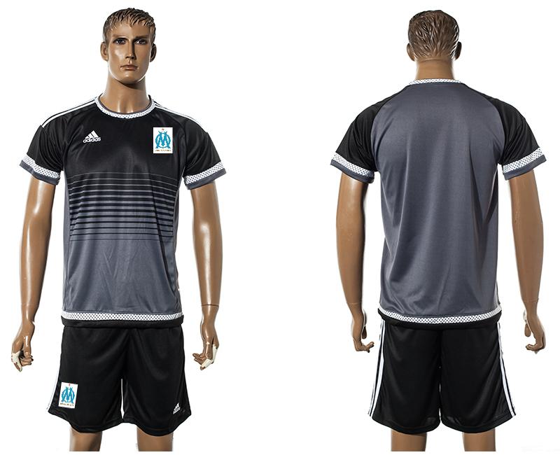 2015-16 Marseille Black Training Jersey