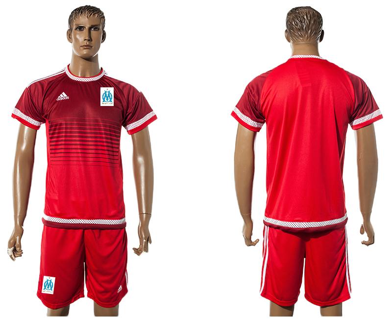 2015-16 Marseille Red Training Jersey
