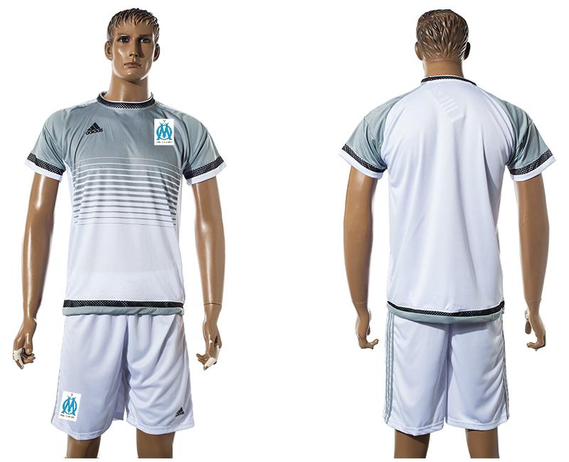 2015-16 Marseille White Training Jersey