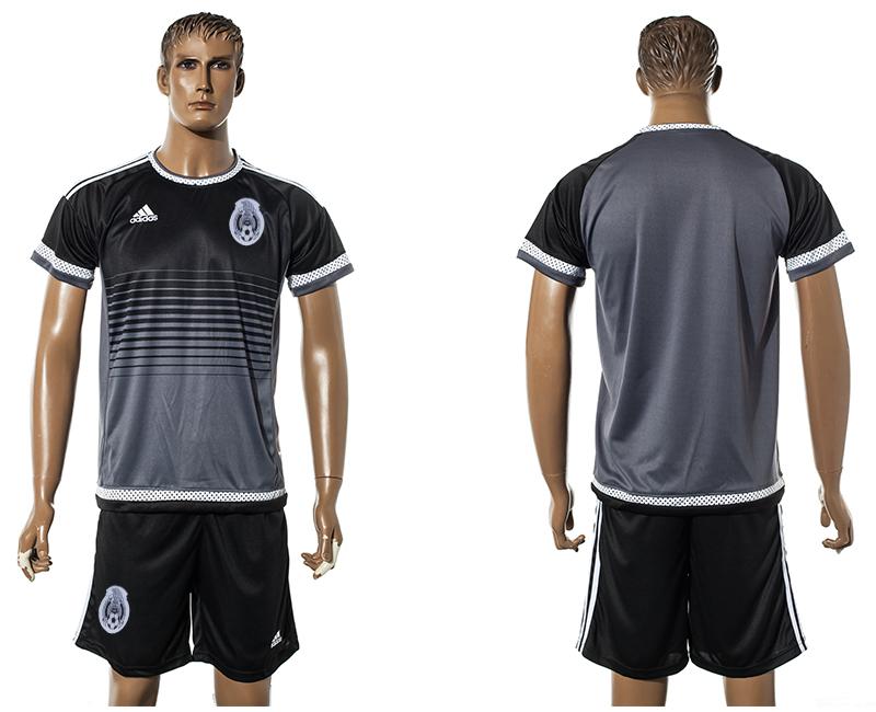 2015-16 Mexico Black Training Jersey