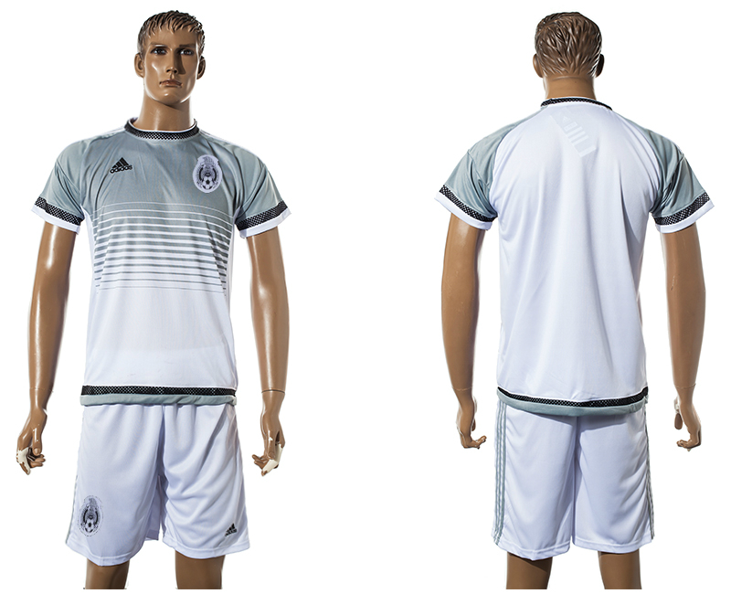 2015-16 Mexico White Training Jersey