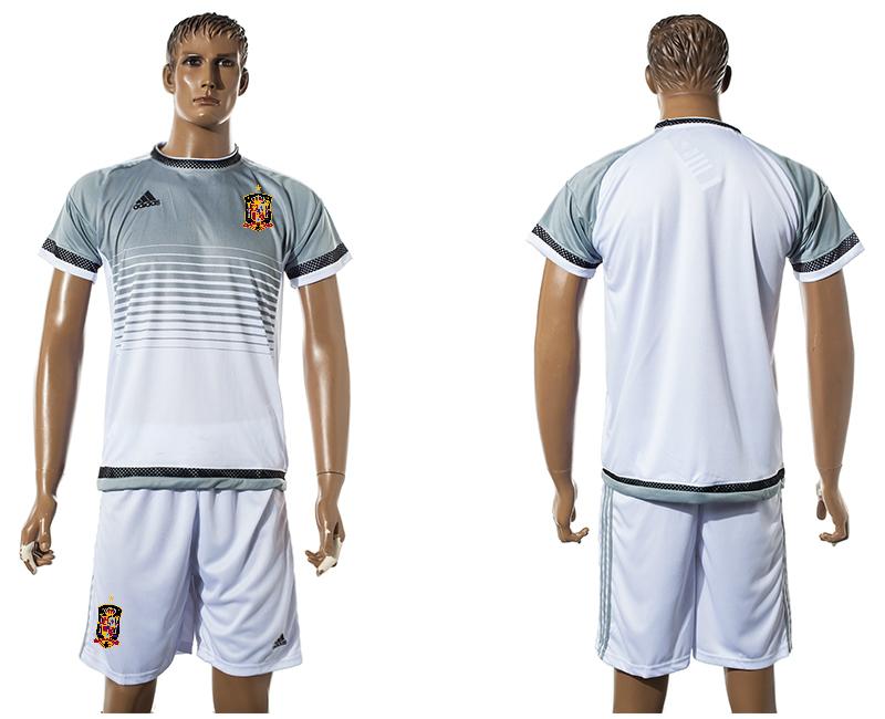 2015-16 Spain White Training Jersey