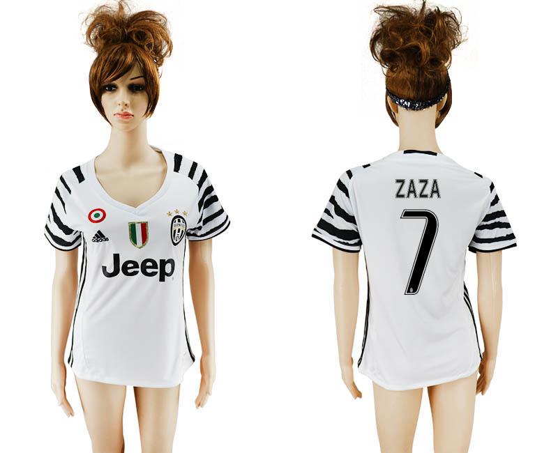 2016-17 Juventus 7 ZAZA Third Away Women Soccer Jersey