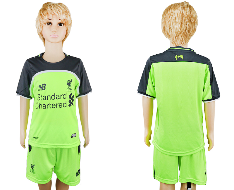 2016-17 Liverpool Third Away Youth Soccer Jersey