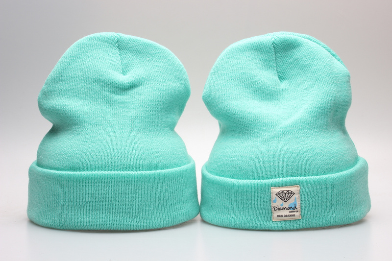 Diamond Green Fashion Knit Hat YP