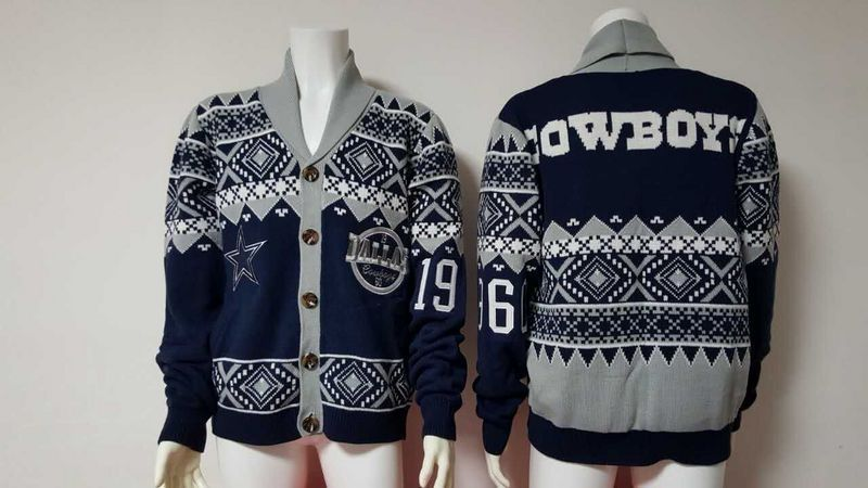 Dallas Cowboys NFL Adult Ugly Cardigan Sweater