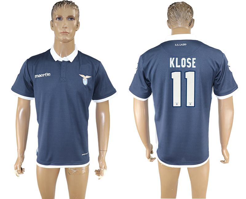 2016-17 Lazio 11 KLOSE Away Thailand Soccer Jersey