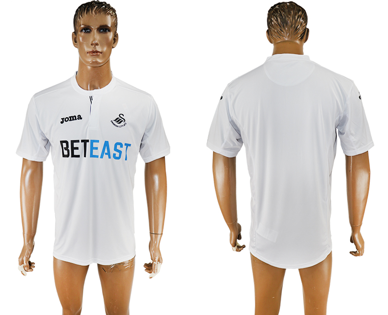 2016-17 Swansea City Home Thailand Soccer Jersey