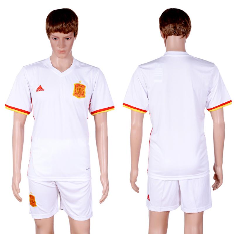 2016-17 Spain Away Soccer Jersey