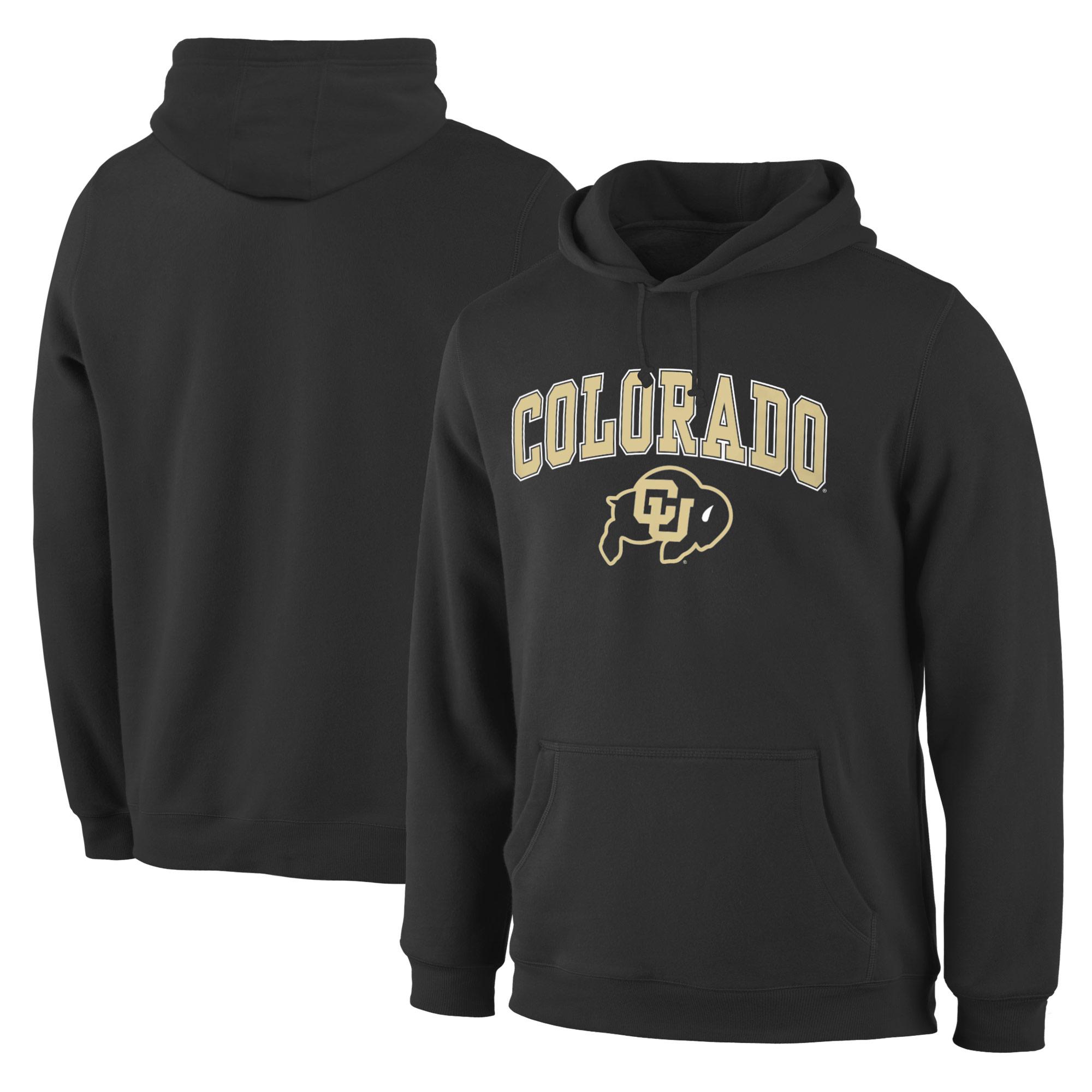 Colorado Buffaloes Black Campus Pullover Hoodie