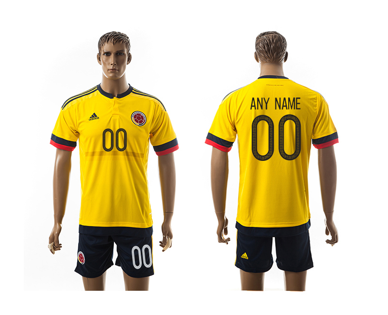 2016-17 Colombia Home Customized Jersey