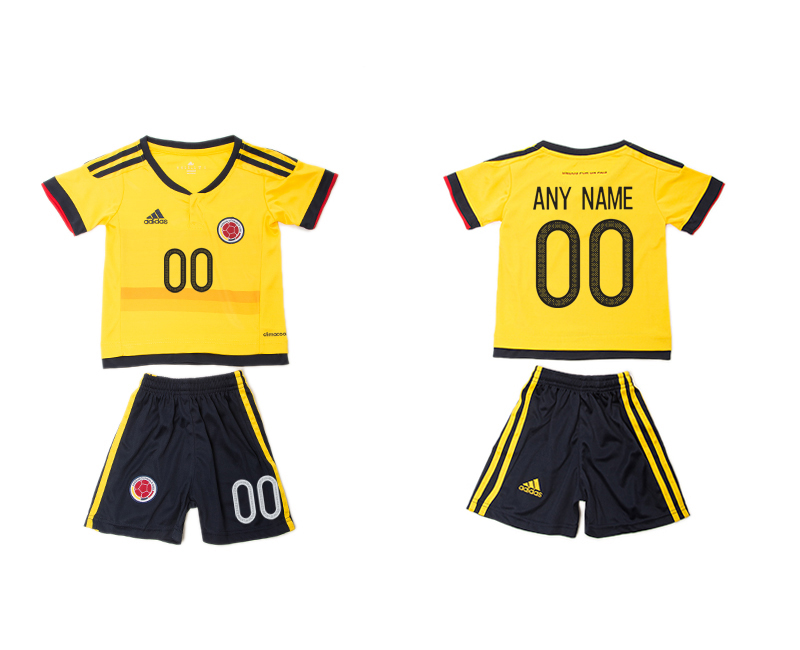 2016-17 Colombia Home Customized Youth Jersey