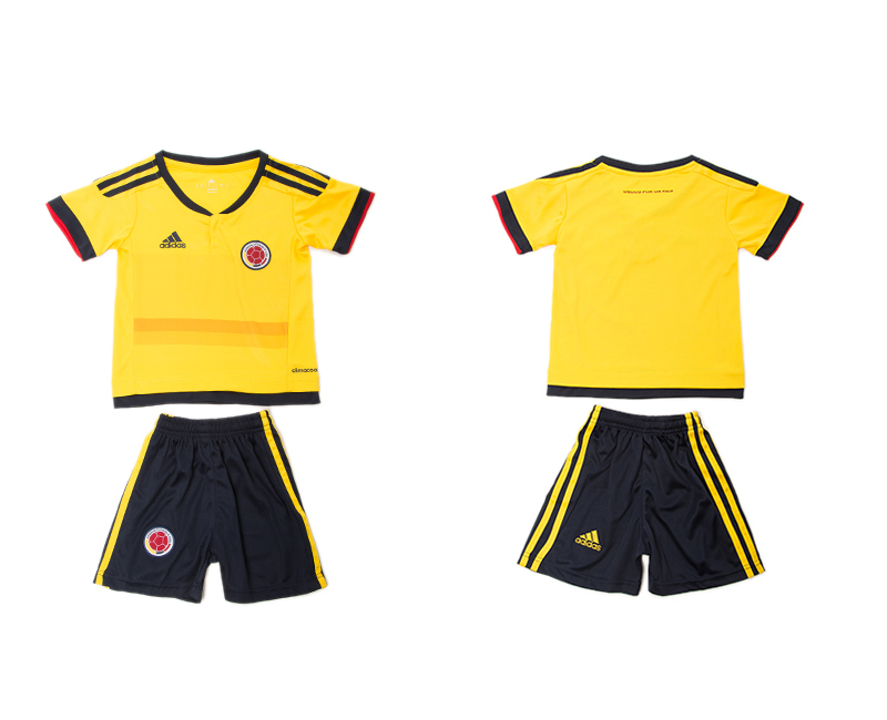2016-17 Colombia Home Youth Jersey