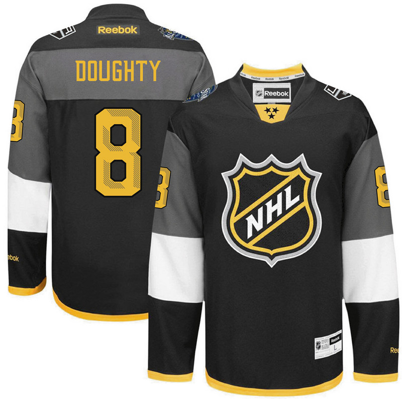 Kings 8 Drew Doughty Black 2016 All-Star Premier Jersey