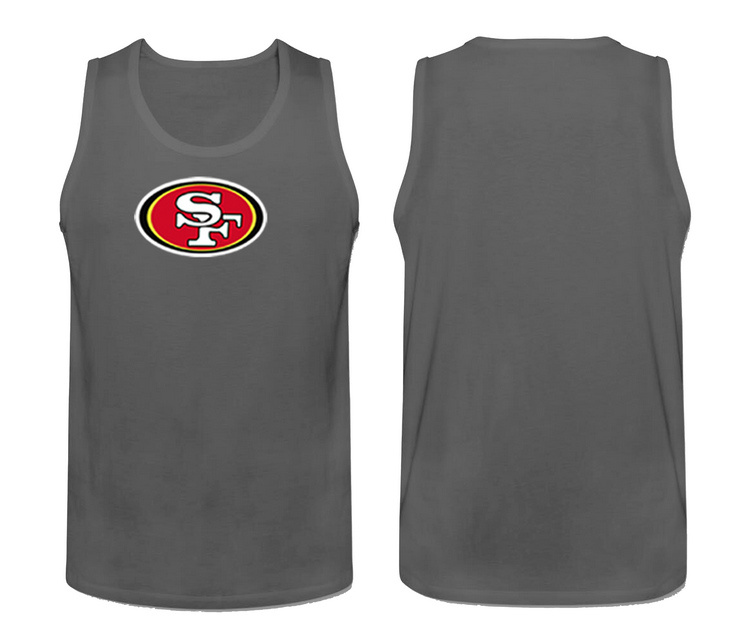 Nike San Francisco 49ers Fresh Logo Men's Tank Top Grey