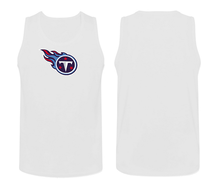 Nike Tennessee Titans Fresh Logo Men's Tank Top White