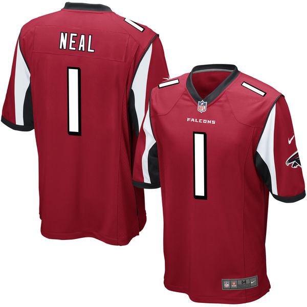 Nike Falcons 1 Keanu Neal Red 2016 Draft Pick Elite Jersey