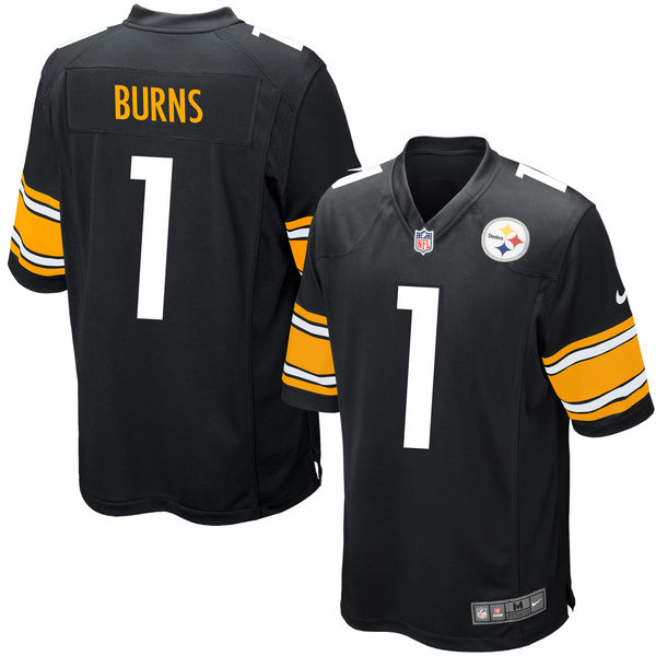 Nike Steelers 1 Artie Burns Black 2016 Draft Pick Elite Jersey