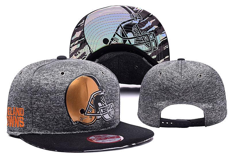 Browns Team Logo Grey Adjustable Hat YD