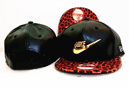 Nike Golden Logo Black Adjustable Hat GF