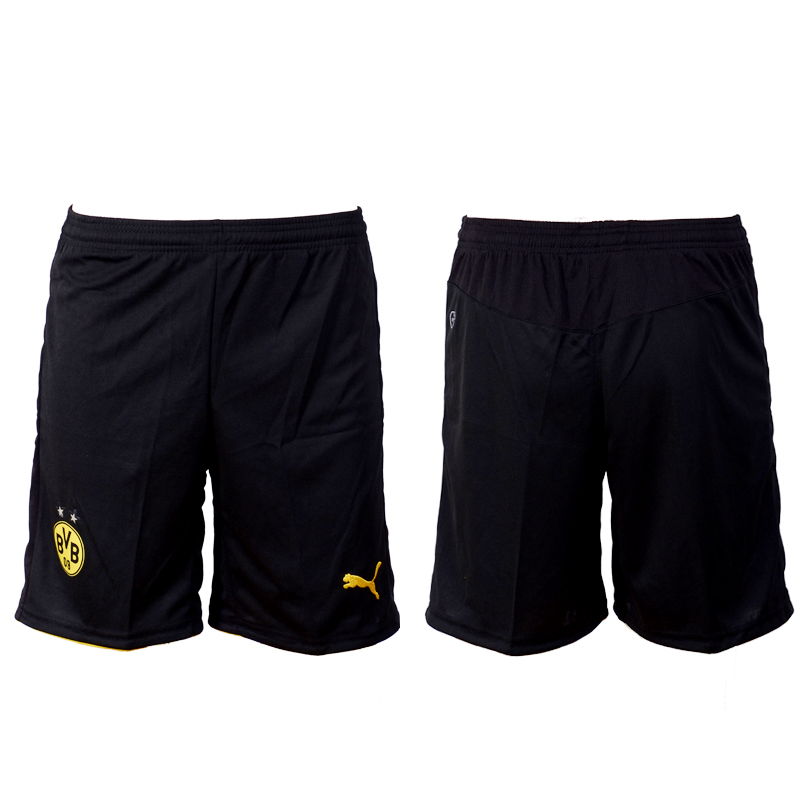 2016-17 Dortmund Home Soccer Shorts
