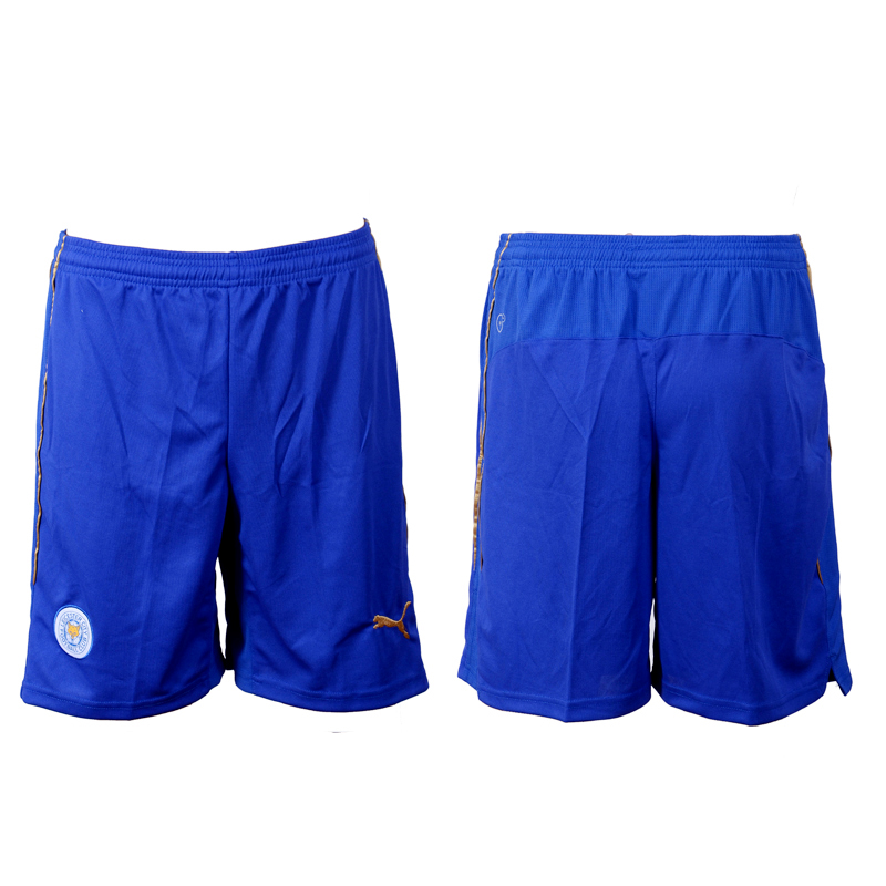 2016-17 Leicester City Home Soccer Shorts