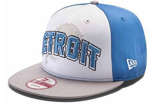 Lions Team Logo White Adjustable Hat GF