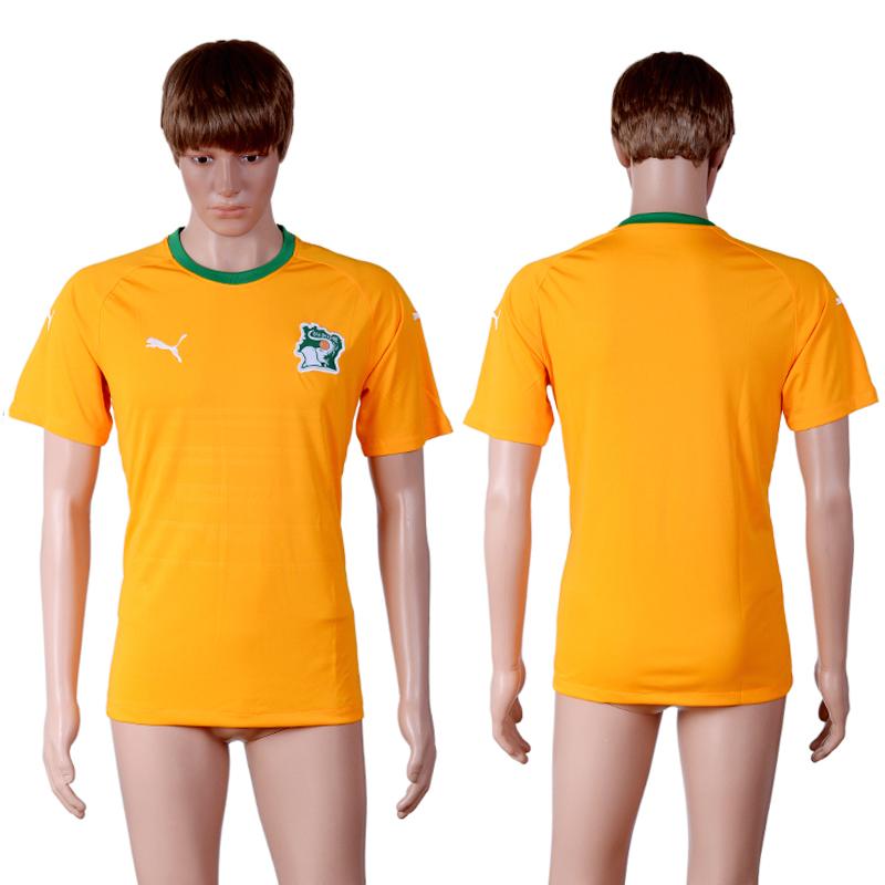 2016-17 Ivory Coast Home Thailand Soccer Jersey