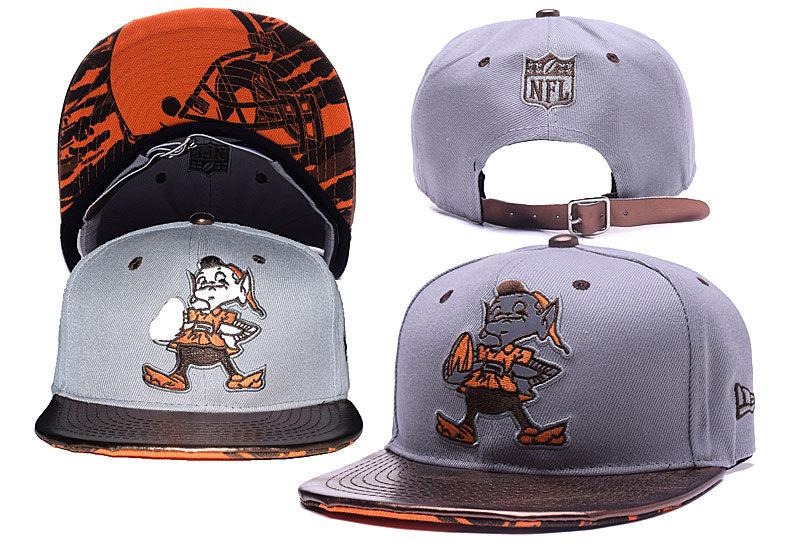 Browns Fresh Logo Grey Reflective Adjustable Hat YD