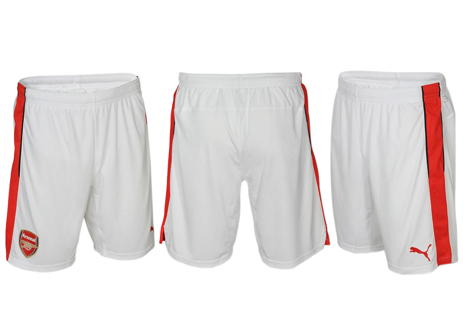 2016-17 Arsenal Home Soccer Shorts