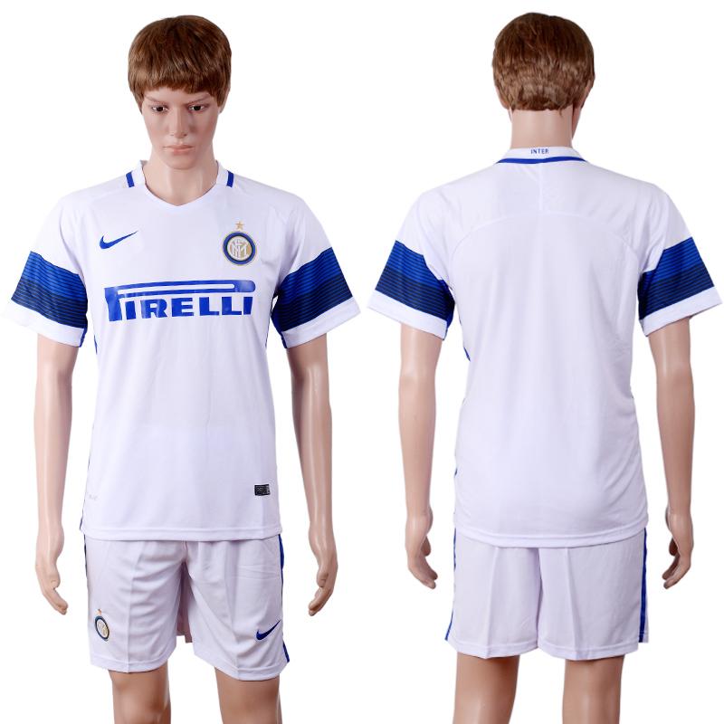 2016-17 Inter Milan Away Soccer Jersey