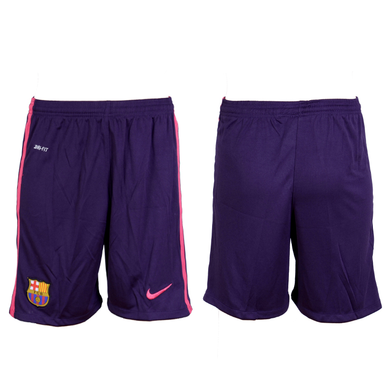2016-17 Barcelona Away Soccer Shorts