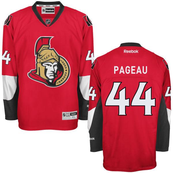 Senators 44 Jean-Gabriel Pageau Red Reebok Premier Jersey