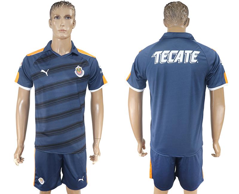 2016-17 Guadalajara Third Away Soccer Jersey