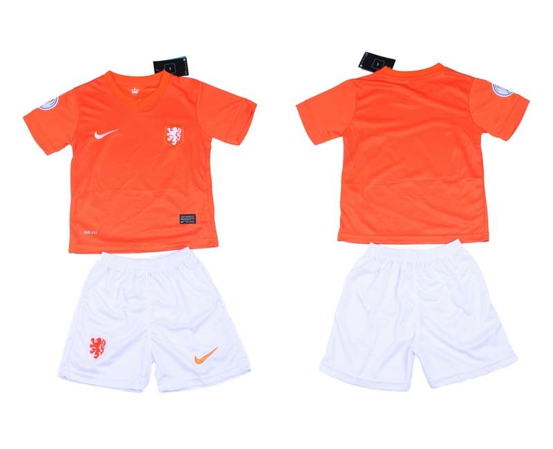 2014 World Cup Netherlands Home Youth Jerseys