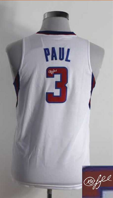 Clippers 3 Paul White Signature Edition Women Jerseys