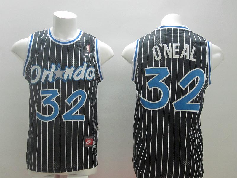Magic 32 O'Neal Black New Revolution 30 Jerseys