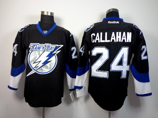 Lightning 24 Callahan Black Jerseys