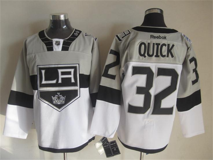 Kings 32 Quick Grey 2015 Stadium Series Jerseys