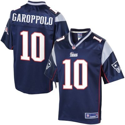New England Patriots 10 Garoppolo Blue Jerseys