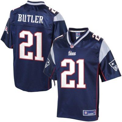 New England Patriots 21 Butler Blue Jerseys