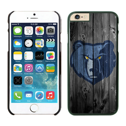 Memphis Grizzlies iPhone 6 Plus Cases Black03