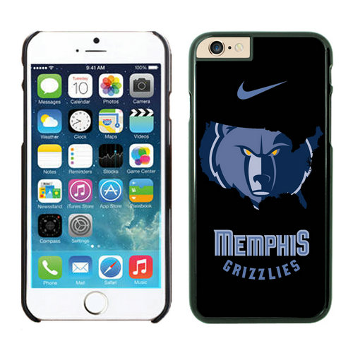 Memphis Grizzlies iPhone 6 Plus Cases Black04