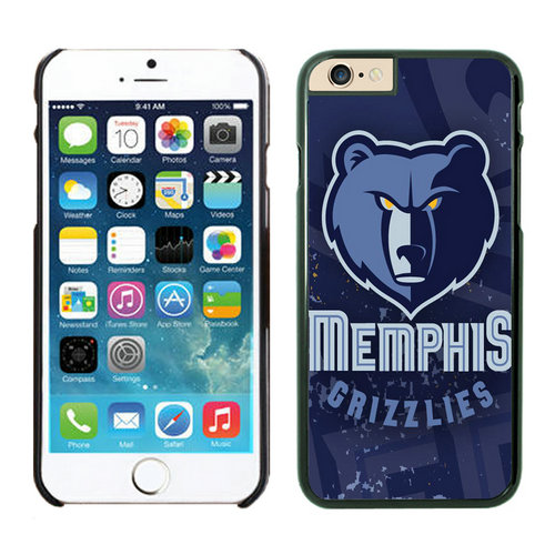 Memphis Grizzlies iPhone 6 Plus Cases Black05